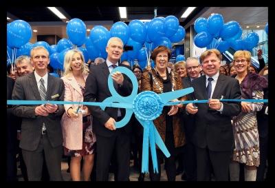 Opening Primark Almere door burgemeester Annemarie Jorritsma