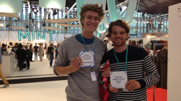 Sjuul Berden (links) en Thijs Verheul