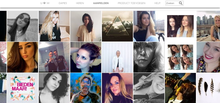 Profielpagina's van verkopers