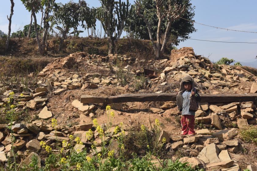 jongetje in Ghunchok